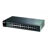合勤 ZYXEL ES-1100-24E 24埠乙太網路無網管型交換器 促銷11/30