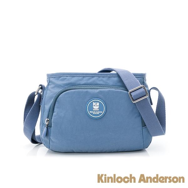 金安德森 FRANCIS 拉鍊斜側包 藍色