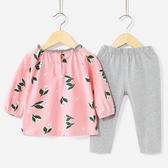 寶寶兩件套春秋0一1歲2童裝女童衣服嬰兒秋裝3-5女小童洋氣套裝秋 居享優品