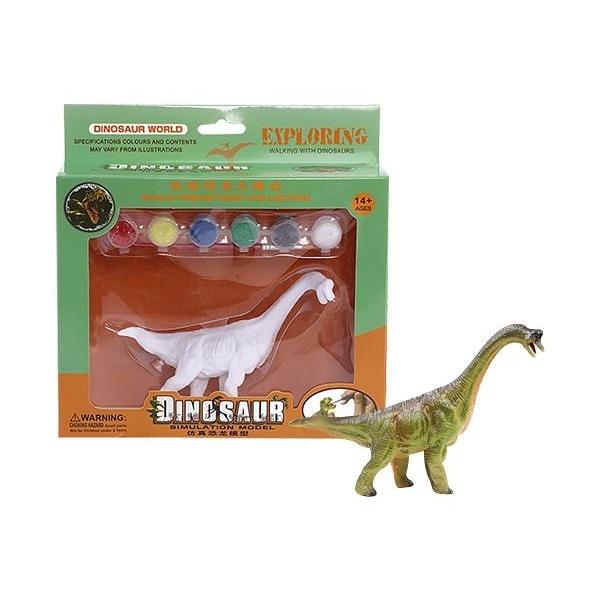 兒童DIY創意彩繪恐龍模型(1入) 款式隨機出貨【小三美日】