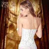婚紗薄款瘦身塑身衣 宮廷美體束腰收腹提臀塑形束身衣
