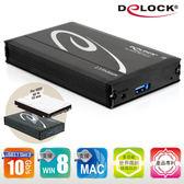 [富廉網] Delock 2.5吋eSATAp 5 in 1 SATA硬碟外接盒 - 42544(時尚黑)