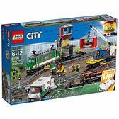 樂高積木 LEGO《 LT60198 》2018年 City 城市系列 - 貨運列車╭★ JOYBUS玩具百貨