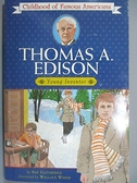 【書寶二手書T2/原文書_CRK】Thomas A. Edison: Young Inventor_Guthridge, Sue