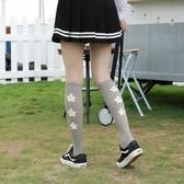 長襪女ins抖音同款潮純棉春秋及膝襪泫雅韓版日系街頭小腿襪女薄