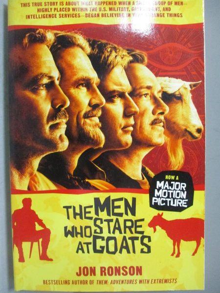 【書寶二手書T7/政治_MMY】The Men Who Stare at Goats_Ronson, Jon