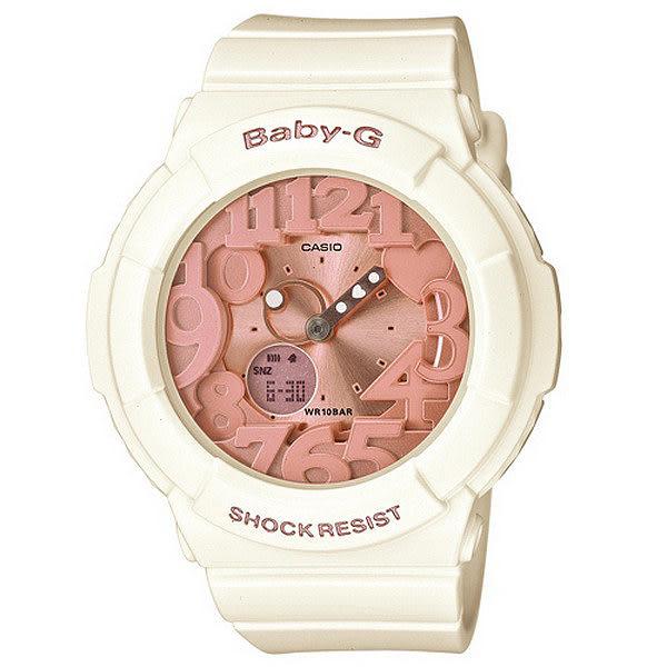 【台南 時代鐘錶 CASIO】卡西歐 Baby-G 宏崑公司貨 BGA-131-7B2 雙顯運動電子錶