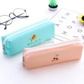 文具盒筆袋韓國簡約女生小清新可愛筆盒文具袋鉛筆女創意 瑪奇哈朵