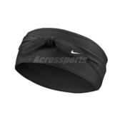 Nike 頭帶 Dry Bandana Head Tie 忍者 綁式 頭巾 NBA 黑 快乾【PUMP306】 N000256201-0OS