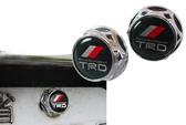 高質量 TRD改裝式樣 豐田改裝 WISH ALTIS YARIS CAMRY RAV4 PREVIA 牌照螺絲 車牌