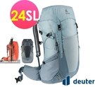 丹大戶外【Deuter】德國 FUTURA透氣網架背包24SL/健行包/女性窄肩款 3400521三色可選