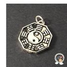 八卦 925銀 墜飾 1.5 公分【十方佛教文物】