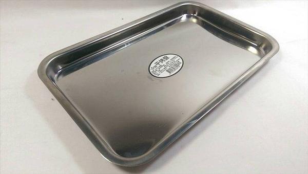 【 台灣製造430不銹鋼平(淺)烤盤】烤盤 烤箱 不鏽鋼烤盤【八八八】e網購