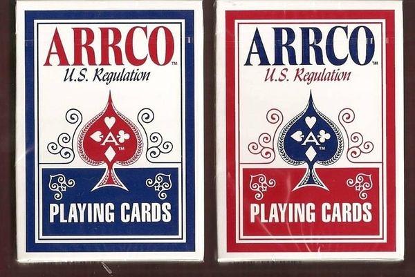 【USPCC撲克館】ARRCO US regulation 撲克牌 紅