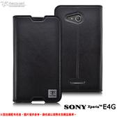 【默肯國際】Metal-Slim Sony Xperia E4g 瘋馬紋多層口袋設計站立皮套 Sony E4g