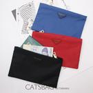 Catsbag|多功能可放手機|錢包|長夾|手機袋|防潑水尼龍手拿包|護照夾貨幣包收納包858