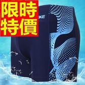 四角泳褲-溫泉復古時尚大方男平口褲56d17【時尚巴黎】
