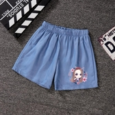女童牛仔短褲夏裝新款中大兒童短褲韓版百搭休閒時尚外穿熱褲 快速出貨