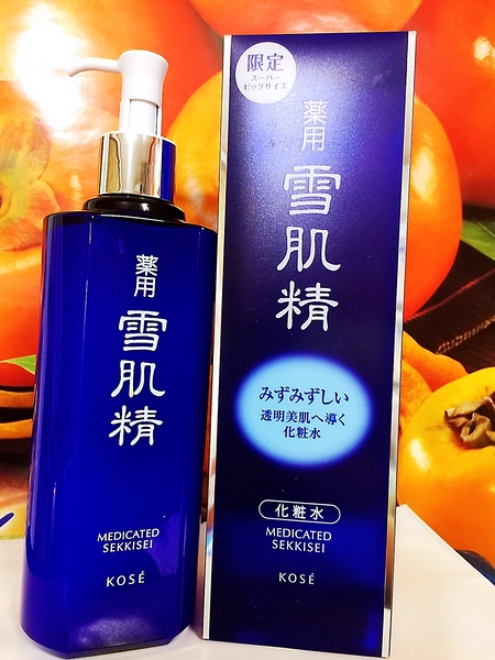 高絲KOSE 藥用雪肌精化妝水500ml 全新百貨專櫃正貨明星加大限量組 2025