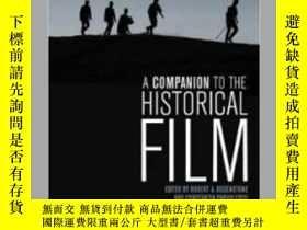 二手書博民逛書店【罕見】2013年出版 A Companion to the Historical FilmY27248 Ro