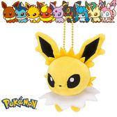 雷伊布 雷精靈 娃娃吊飾 玩偶 Q版 Pokemon 寶可夢 神奇寶貝 日本正品 該該貝比日本精品 ☆
