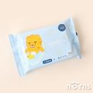 Kakao Friends little系列濕紙巾20抽- Norns 正版授權 隨身包 潔膚濕巾 Ryan萊恩
