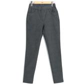 秋冬7折[H2O]復古格紋修身顯瘦內搭長褲 - 黑格色 #9658009