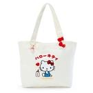 小禮堂 Hello Kitty 橫式帆布...