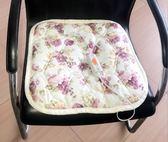 發熱加熱坐墊辦公室插電女辦電暖椅墊家用調溫小電熱毯電褥子usb 伊衫風尚