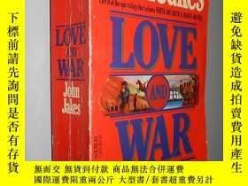 二手書博民逛書店Love罕見and War by John Jakes 英文原版