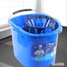 世家拖把桶擰干器多功能拖地桶擠水桶家用拖...