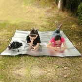 200*200雙面鋁野餐防潮2-3人帳篷坐加厚戶外野營igo   酷男精品館