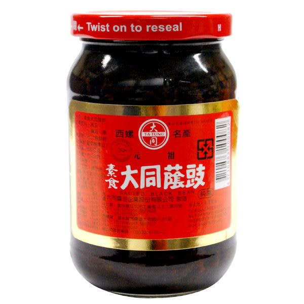 【大同】豆鼓(素食)   380g