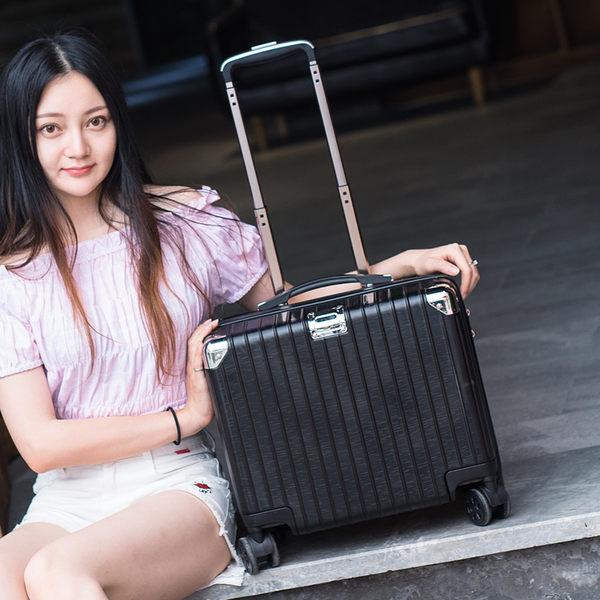 迷妳登機箱16寸行李箱拉桿箱旅行商務