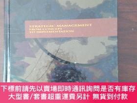 二手書博民逛書店Strategic罕見Management: From Concept to Implementation(英文原