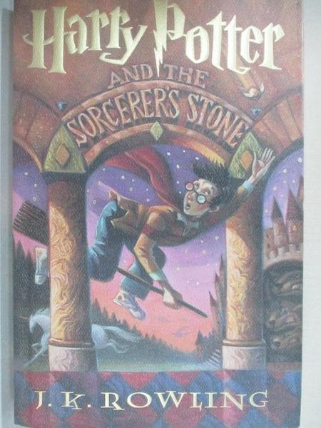【書寶二手書T4/原文小說_E3U】Harry Potter and the Sorcerer s Stone_J. K. Rowling