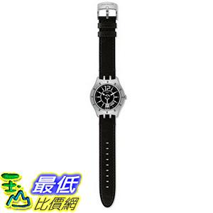 [美國直購] Swatch Men s YTS400 Quartz Stainless Steel Black Dial Watch 手錶