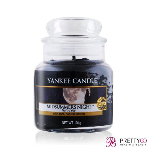 YANKEE CANDLE 香氛蠟燭 (104g)-多款任選 [仲夏之夜│薰衣草│玫瑰│熊寶貝│粉紅沙]【美麗購】