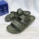 Birkenstock 勃肯 Arizona EVA 拖鞋 涼鞋 1019152 女款 墨綠【iSport愛運動】