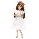 Licca 莉卡娃娃LD-07 白色蕾絲洋裝莉卡LA61905 TAKARA TOMY