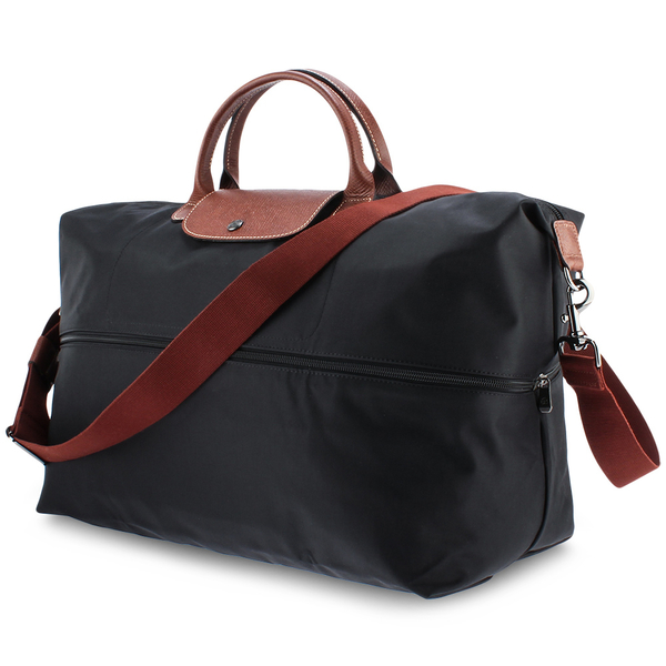 LONGCHAMP摺疊兩用旅行袋(黑色)480204