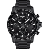 TISSOT天梭 Supersport 計時手錶-45.5mm(T1256173305100)