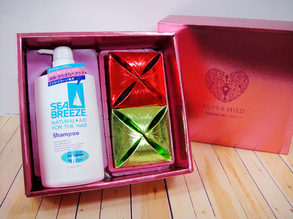 SHISEIDO資生堂禮盒-SEABREEZE-喝茶禮盒-結婚用品【皇家結婚用品百貨】