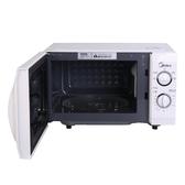 微波爐21L機械式轉盤微波爐家用烤箱一體智慧平板燒烤光波爐微波爐家用 潮流衣舍