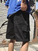 夏季新款百搭五分褲子學生運動寬鬆休閒短褲男提拉米蘇