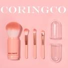 韓國 Coringco 棉花糖膠囊化妝刷具 4件組 腮紅刷 眼影刷【小紅帽美妝】NPRO