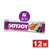 SOYJOY 大豆營養棒X12條 (葡萄杏仁口味)(低GI高膳食纖維 日本原裝) 專品藥局【2014729】