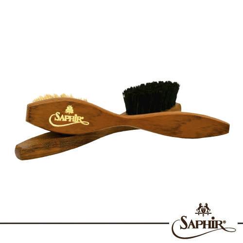 【SAPHIR莎菲爾-金質】多用途刷(大)-皮鞋萬用刷  麂皮靴萬用刷