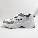 FILA 復古慢跑鞋 老爹鞋 運動鞋 休閒鞋 男款 1J329V143 白灰藍【iSport愛運動】