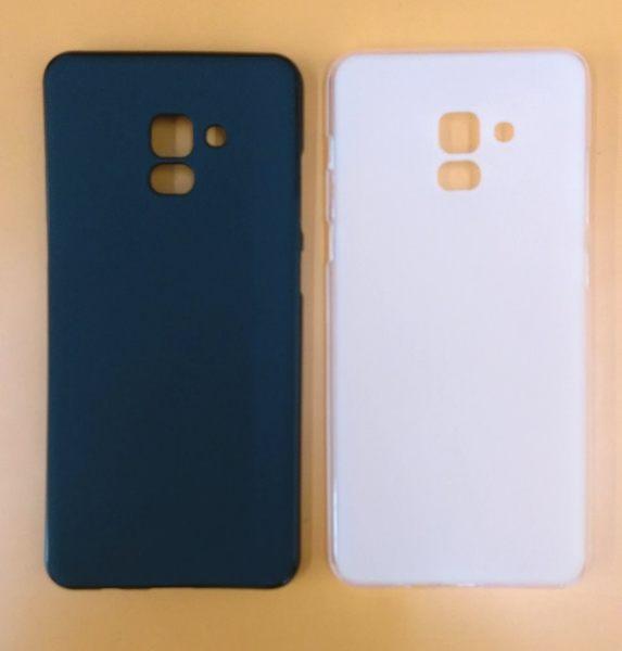 【台灣優購】全新 SAMSUNG Galaxy A8+.A730(2018版) 專用保護軟套 清水套 透明黑 透明白~優惠價59元